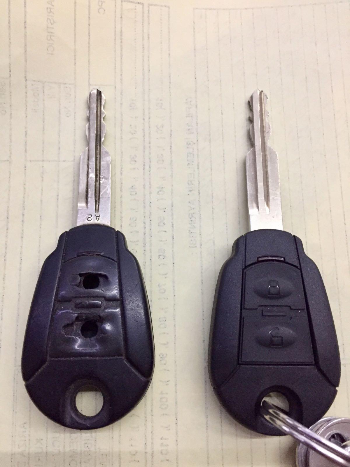 Bilecik oto anahtar kabı değişimi